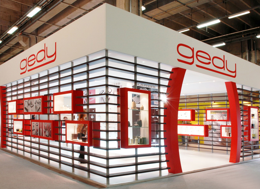 Gedy exhibition stand at Cersaie in Bologna 2010 designed by Axis Design Maior (AD Maior)