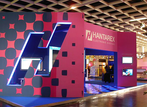 Hantarex exhibition stand in Cologne designed by Axis Design Maior (AD Maior)